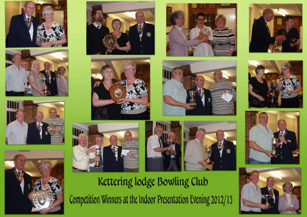 2012/13 Indoor Winners